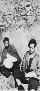Blessés espagnols dans les Rousses (été 1944).